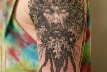 Green Man Tattoo / Projekt nowego tatuażu