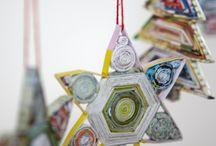 made from newspaper / Creative kids crafts using newspaper.