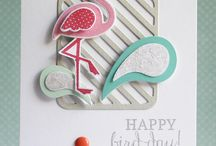 Craftiness - Reverse Confetti Stamps