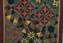 Mystery Quilt 2014 / Quilts made from A Quilter's Dream pattern called Sample This.