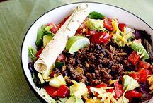 Food:  Salad Ideas