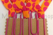 Ribbon Bookmarks,