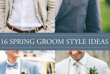 Groom style wedding