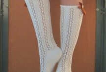Knitted socks / by Shannon