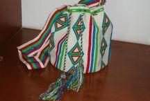 Handmade bags / Handmade, Handwoven, Fibers, lather, handbags Hecho a mano