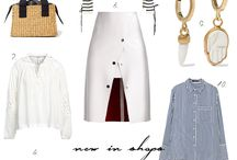 SHOPPING / FASHION COLLAGES
