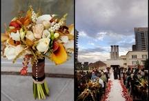 Nancy + Jason / Hues of autumn / by Embellishmint Floral + Event Design Studio