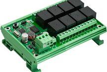 Modbus Relays / Modbus relays is RS485 relay boards over modbus protocol.