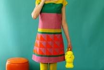 Pop art mini skirt