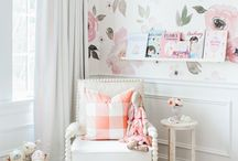Baby girl room - large print or mural