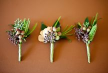 BOUTONNIERES & CORSAGES / by FLOWERS ON ORCHARD LANE