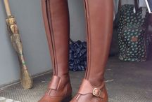 POLO / Close contact riding boot. Front zip, available with either one or two straps (bottom strap doesn't interfere with position of spurs). Handcrafted from box calf leather. Available in array of colours/style combinations and with/without laces.