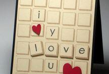 Card Ideas:  Love theme (valentine, wedding, anniversary) / by Karen Fortson