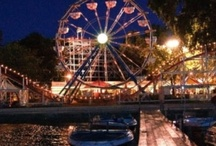 Arnolds Park, IA / Enjoy a full day of amusement at Arnolds Park.  There are over 30 rides and attractions, shopping, food, music and games.  While you're there be sure to stroll along Queen's Court.  Enjoy FREE concerts at the Preservation Plaza featuring famous artists and local talent.