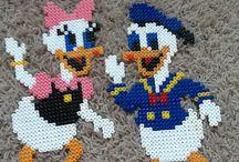 HAMA Disney - strijkkralen Disney / allerlei strijkkralenfiguren van Disney