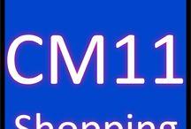 CM11 Shopping / Sales CM11 Postcode district Billericay