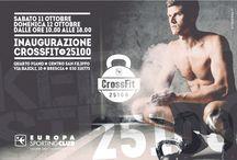 CROSSFIT 25100 / Nuova sezione di Europa Sporting club !