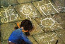 GIOCHI INFANTILI / Giochi di tradizione e giochi con semplici materiali naturali o artefatti artigianali