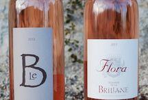 FLORA rosé 2013 / Le nouveau rosé gastronomique du Domaine de la Brillane, domaine viticole en agriculture biologique à Aix-en-Provence / by La Brillane Aix en Provence