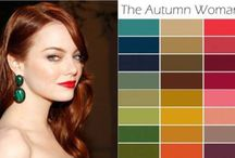 warm autumn color palette