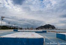 Palermo / Architektura stolicy Sycylii #Sicilia #Palermo #Sicily #Coast #Foro Italico