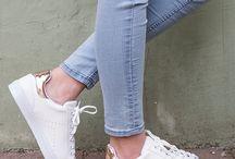 Beyaz Spor Ayakkabılar