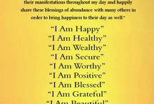 Positive Affirmations / by Hope Scippio