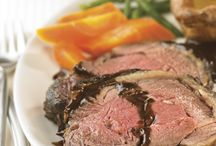 Beef Cuts: Rib of Beef / There are 14 cuts of beef and it can be difficult to decide what to cook with them. Here are a few recipes using a rib of beef.
