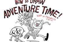 Drawing with Finn and Jake