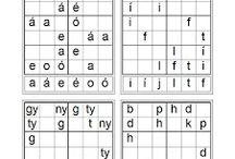 sudoku-betű