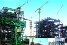 Metal building / Projects: 16,000T India BALCO 4*300MW Coal-firing Power Station Steel Structure for India BALCO 4*300MW Coal-firing Power Station Our work: Fabrication& Transportation Project Type: Coal-fired power stations Steel Structure Tonnage: 16,000 tons Box Column& Welded H-beam Structure Coating: painted Email: sdhxgg02@126.com