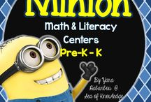 Minions / millions of things to do and learn with the minions ... Invite
