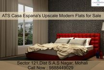 ATS Golf Meadow's Upscale Modern Flats for Sale / Get high-quality upscale #flats in ATS #CasaEspana, located in sector-121 #Mohali. For more information ,Call Now : 9888449029