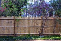 Stockade Fence - Cedar / AVO Fence & Supply fabricates custom fence in cedar and vinyl.