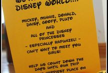 Disney Land ideas!
