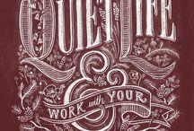 carteles/afiches tipograficos
