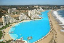 chile / es  la piscina chile  mas grande del mundo