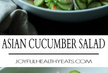 Salads / Asian cucumber salad