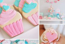 Cupcakes / Cupcake themed birthday party ideas and cakes