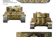 Ww2 armi / Disegni e tavole sui mezzi bellici