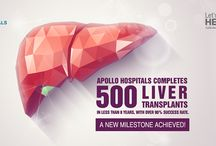 Apollo Hospitals Completes 500 Liver Transplant / Apollo's Centre for Liver Disease and Transplantation has completed 500 liver transplantations in less than 8 years with over 90% success rate! Due to a noticeable rise in the case of liver diseases in India, we are fortifying our nation-wide hospitals with the equipment to meet the need for liver treatment.  For appointments or queries please contact: Email ID: LiverTransplant.in@gmail.com