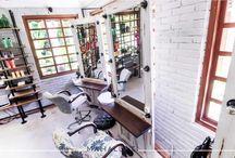 Komune Resort Salon Bali / Full Installations, design and furniture manufacturing done by Mahallati Interior. www.mhllt.com