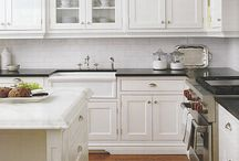 Classical white kitchens / Kitchen for Georgian style house