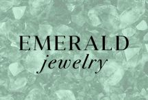 Emerald Jewelry / Sure to draw attention, this shade of green can add dimension to any outfit. Emerald is also the birthstone for the month of May. Here are some Emerald favorites at Ice.com / by Ice.com