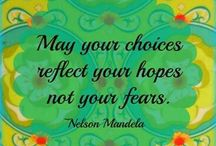 ~Nelson Mandela / A devoted champion for peace and social justice in his own nation and around the world