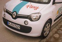 Stattauto München Flexy / Unsere neuen Flexy im Parkraummodel 1