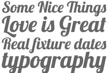 Typography / by Andy