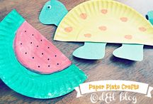 Paperplate crafts