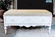 Re-purpose Old Furniture ideas..