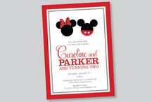 Mickey/Minnie Wedding Invites / by Madeline Morcelo